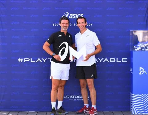 ASICS Named Official Footwear and Apparel Partner of the Mouratoglou Academy