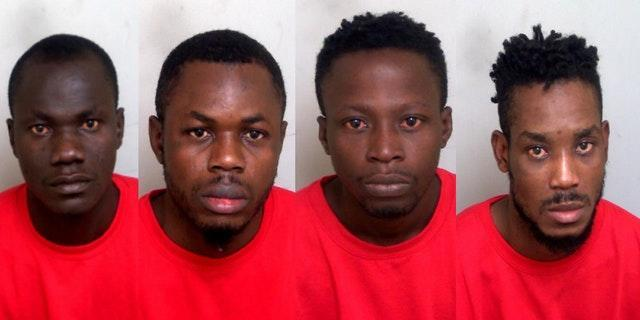 Stowaways jailed after rampage on ship