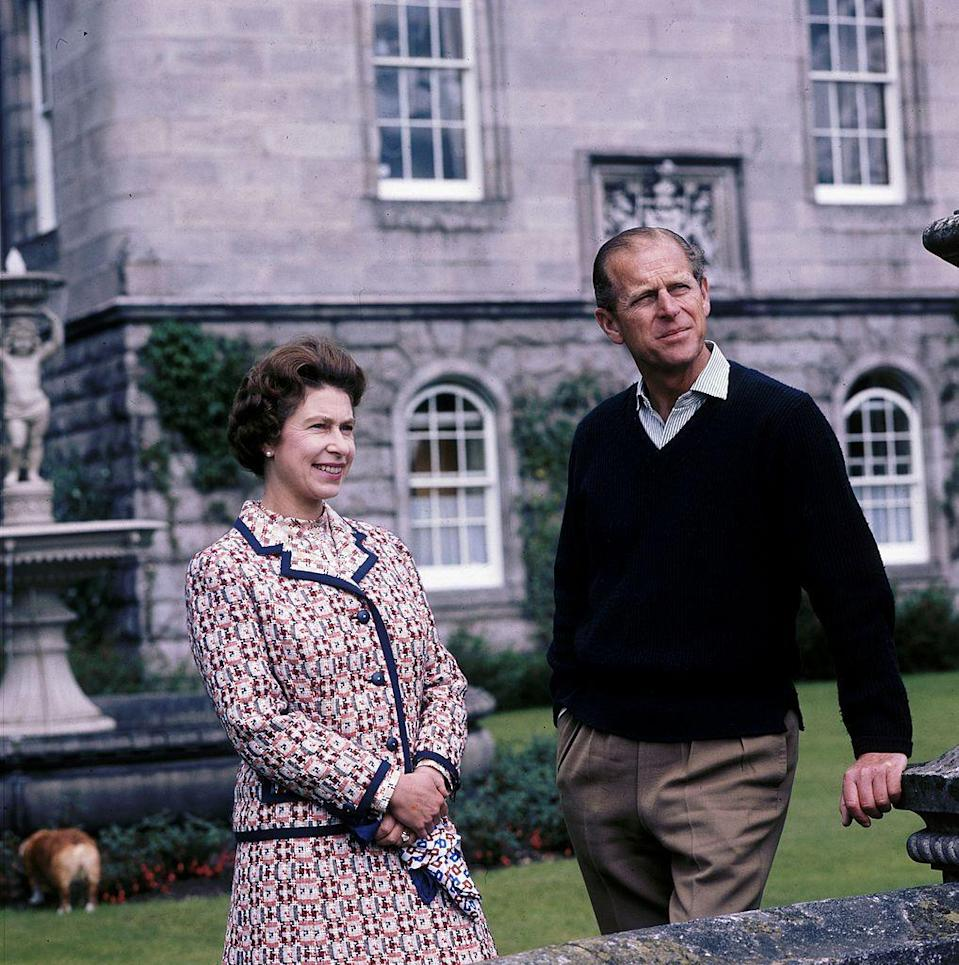 <p>The royal couple at Balmoral.</p>