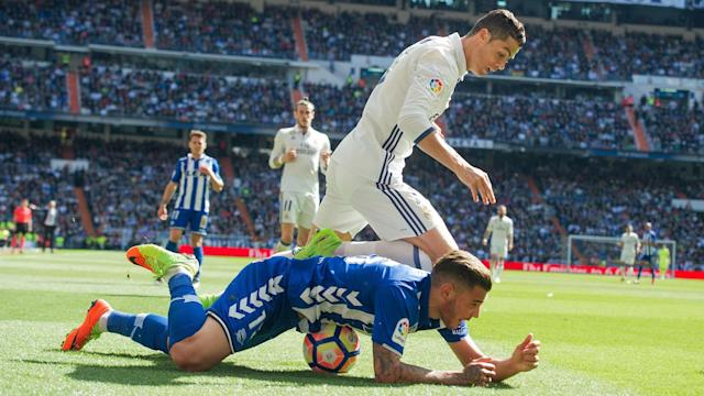 With Theo Hernandez's future a hot topic ahead of the Madrid derby, Atletico president Enrique Cerezo has laughed off talk of a move.
