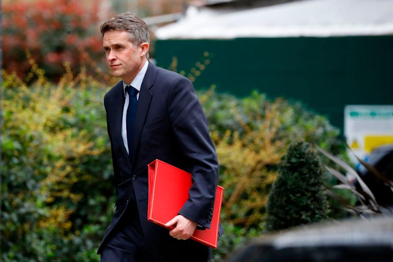 Ms Rayner downgraded Mr Williamson to a U (AFP via Getty Images)