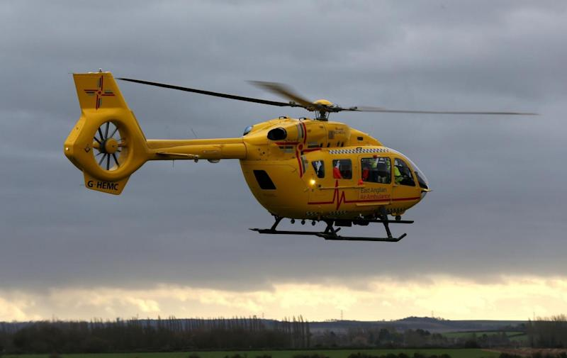According to an official report the air ambulance