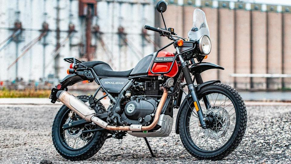 2021 Royal Enfield Himalayan to get three new color options