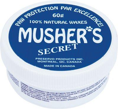 Musher's Secret Paw Protection Natural Dog Wax
