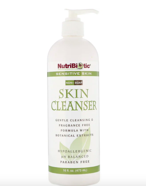 NutriBiotic, Skin Cleanser, Non-Soap, Fragrance Free, 473ml, S$9.47. PHOTO: iHerb