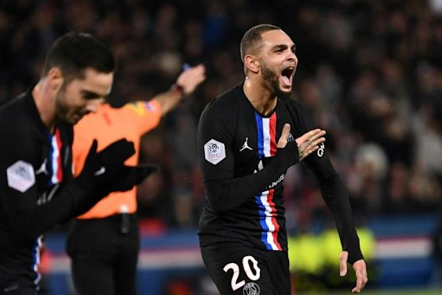 Kurzawa has played 123 times for PSG in all competitions (AFP Photo/FRANCK FIFE)