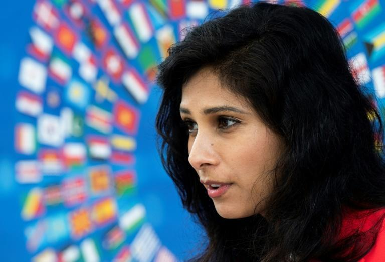 IMF chief economist Gita Gopinath said US inflation would rise only 2.25% in 2022, 'nothing to be concerned about'