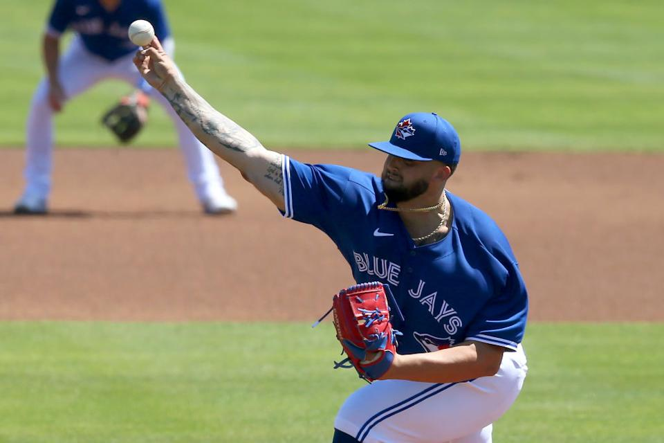 Alek Manoah has only made two Triple-A starts, but the