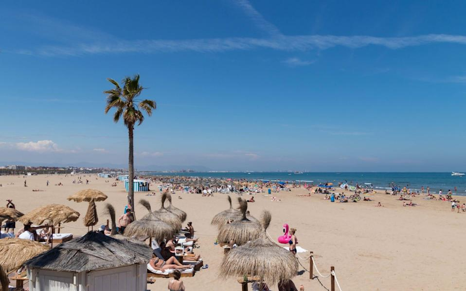 The beach at Valencia awaits - Shutterstock