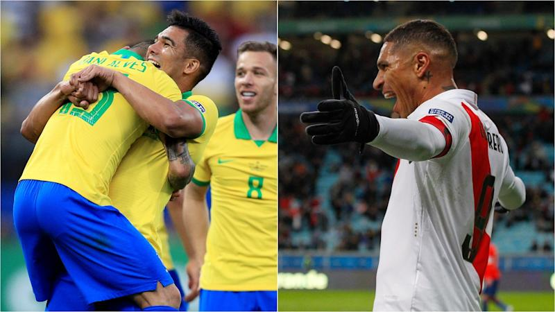 Brazil v Peru: Casemiro wants another thrashing – but doesn't expect one