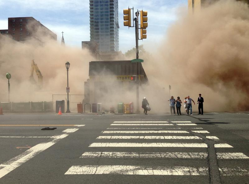 Search goes on after Pa. building collapse kills 6