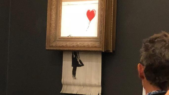 Un Banksy de la collection de Robin Williams vendu 735 000 $