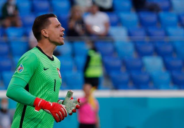 Wojciech Szczesny has had little luck at the Euros in his career