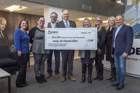 Widex USA Donates $22,000 to the Helen Keller National Center for Deaf-Blind Youths and Adults