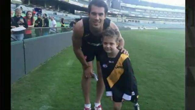 Nate and Alex Rance. Image: Ch7
