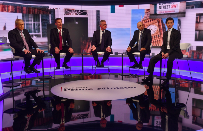 The BBC debate has been criticised for its format and for the inclusion of Mr Patel despite his Twitter comments (Getty)