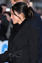 <p>This technically isn't a full-on rule, but when have you ever seen Kate Middleton wearing an updo with messy tendrils falling around her face? So pretty. </p>