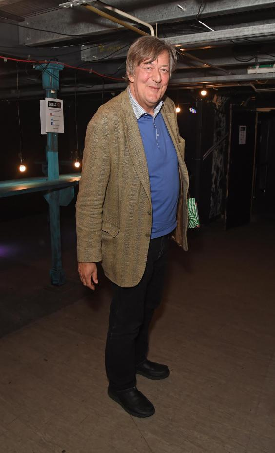 """Stephen Fry attends the press night after party for """"Bare: A Pop Opera"""" at The Vaults on June 26, 2019 in London, England (Getty Images)"""