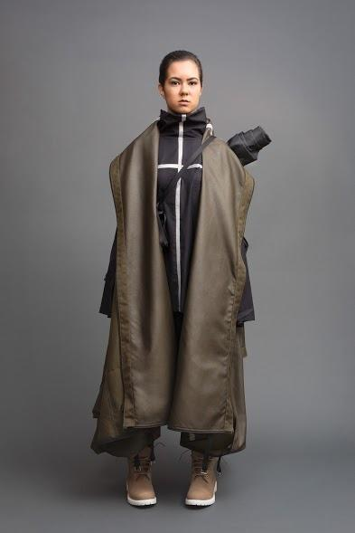 <p>This waterproof jacket transforms into a large tent that can fit up to six people. [<i>Photo: Jessica Richmond]</i><br /></p>