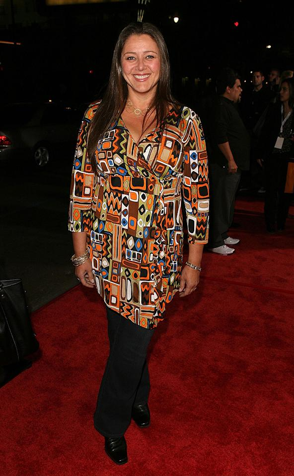 """<a href=""""http://movies.yahoo.com/movie/contributor/1800019349"""">Camryn Manheim</a> at the Los Angeles premiere of <a href=""""http://movies.yahoo.com/movie/1809991685/info"""">Nothing Like the Holidays</a> - 12/03/2008"""