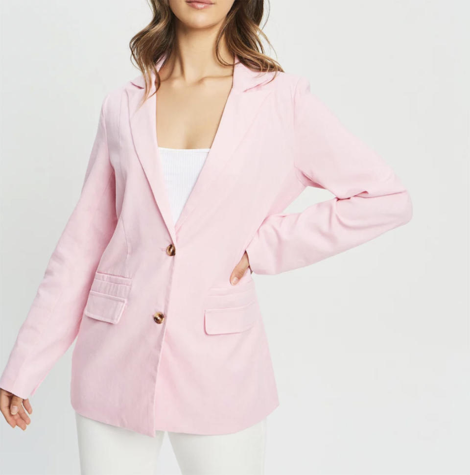 Calli Jacquie Blazer, $111.96 (sale) from The Iconic