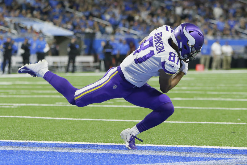 If Vikings are without Thielen, there's precedent of success