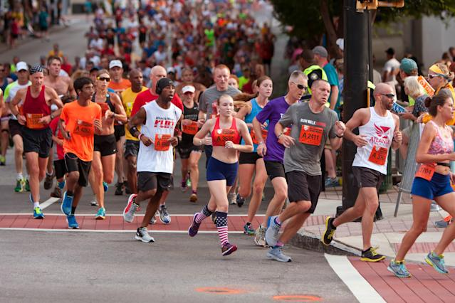 The Peachtree Road Race is an Atlanta landmark. (Getty)