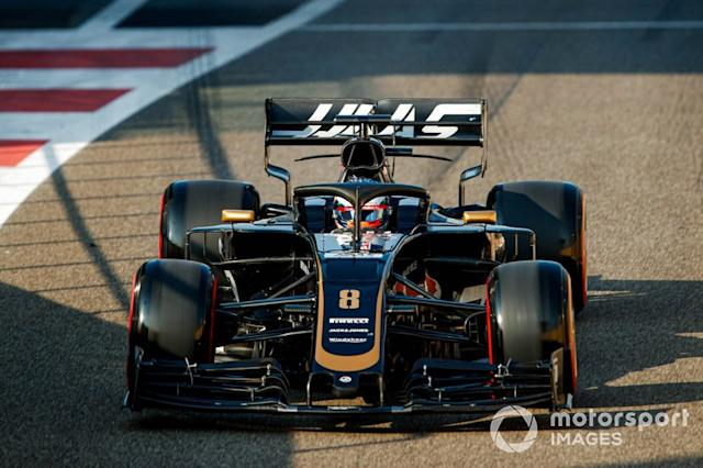 "Romain Grosjean, Haas F1 Team VF-19 <span class=""copyright"">Joe Portlock / Motorsport Images</span>"