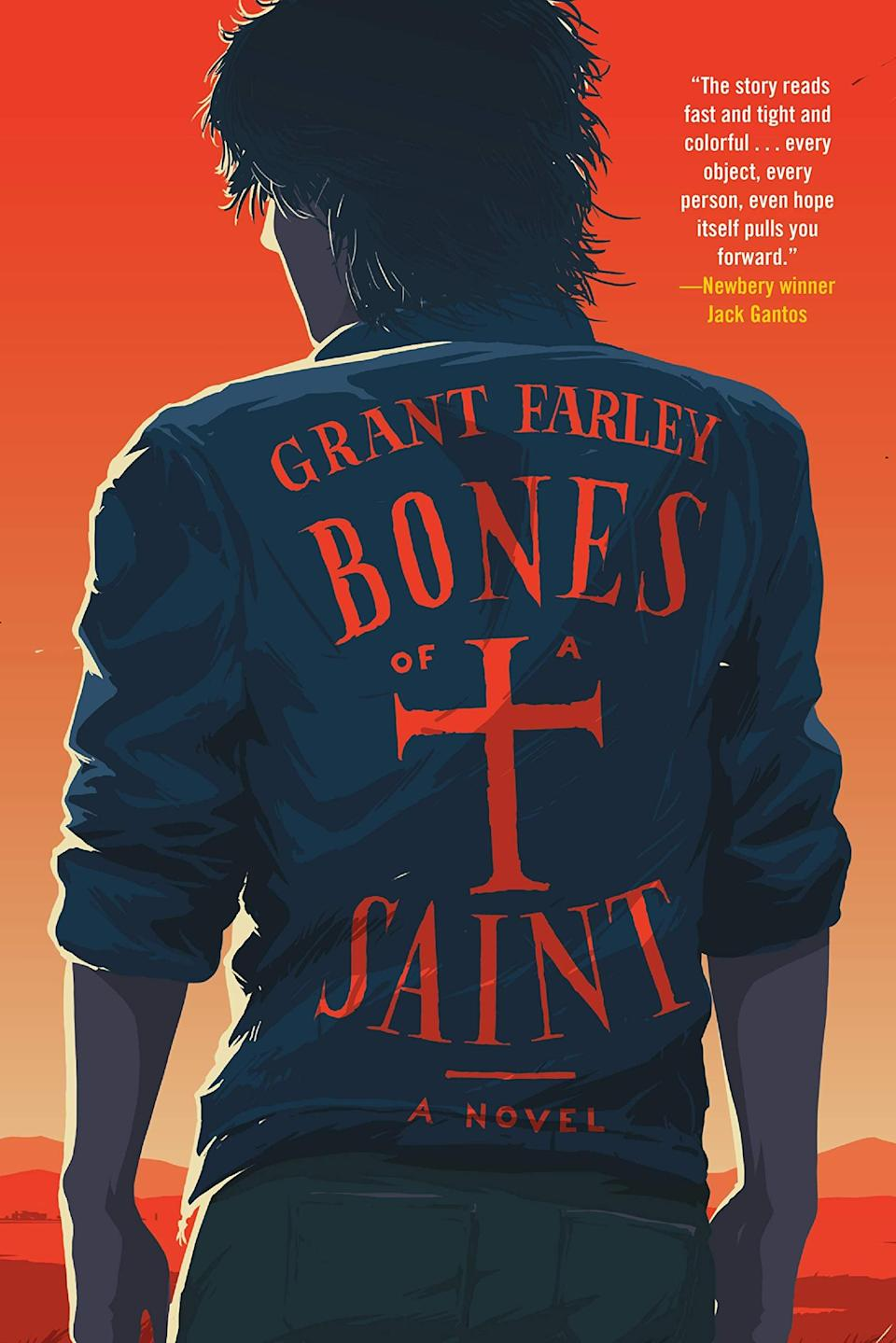 <p><span><strong>Bones of a Saint</strong></span> by Grant Farley will transport you to 1970s California where 15-year-old RJ Armante struggles to break free from The Blackjacks, a gang with an iron grip on his small town. If RJ can defy The Blackjacks, he may just be able to save himself and the rest of the town's kids from an endless cycle of violence, but nothing about his plan will go smoothly. </p> <p><em>Out March 16</em></p>
