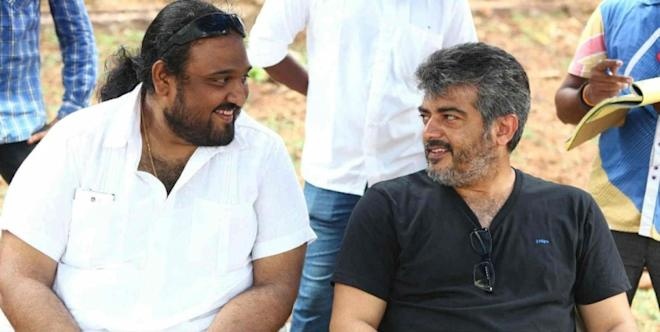 Siruthai Siva with Ajith