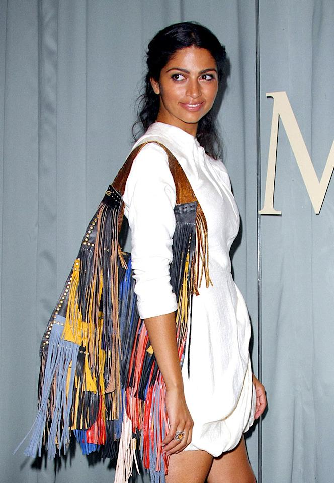 """Matthew McConaughey's gal pal Camila Alves is adorable, but her homemade line of handbags is hideous. Fringe has never been, and never will be, fabulous. Tonya Wise/London Ent/<a href=""""http://www.splashnewsonline.com"""" target=""""new"""">Splash News</a> - August 7, 2008"""