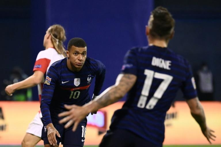 Mbappe gives France Nations League victory in Croatia