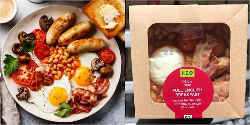 M&S Is Selling Chilled English Breakfasts And People Are Freaking TF Out