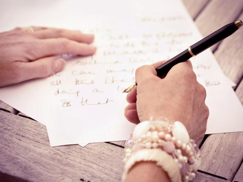 Take the time to write a thank you. Source: Getty