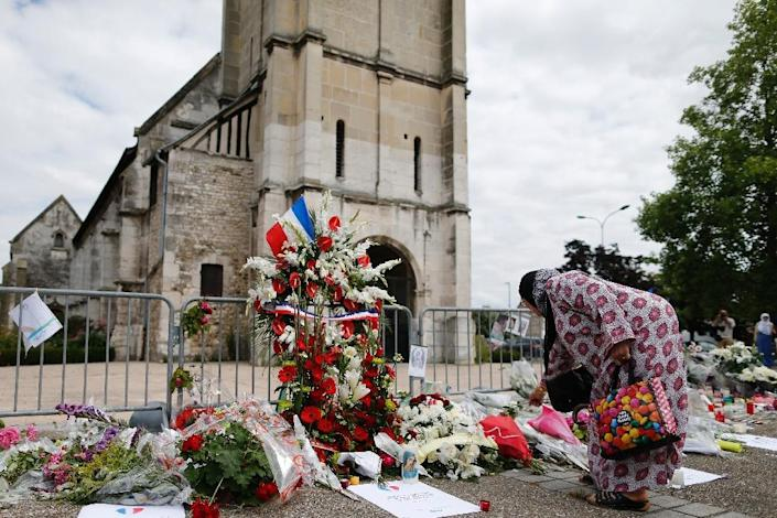 The man arrested Monday in the Toulouse area of southern France is the second to be held in connection with the murder of priest Jacques Hamel at his church in Saint-Etienne-du-Rouvray (AFP Photo/Charly Ttiballeau)