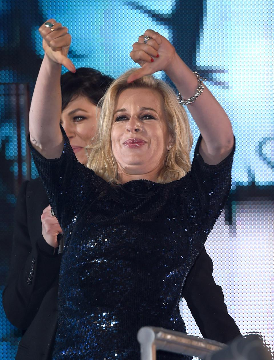 Katie Hopkins was deported from Australia this week after bragging about trying to break quarantine rules, but it seems she'll still get paid for the trip. Photo: Getty