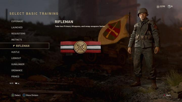 Call of Duty WW2 Advanced Multiplayer Guide -- Rifleman Basic Training is OP