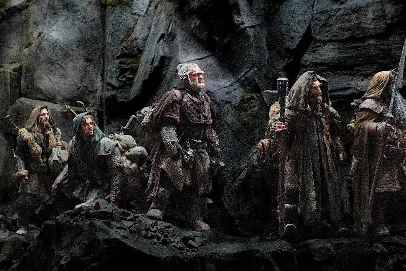 "FILE - This publicity file photo released by Warner Bros., shows from left, Dean O'Gorman as Fili, Aidan Turner as Kili, Mark Hadlow as Dori, Jed Brophy as Nori and William Kircher as Bifur in a scene from the fantasy adventure ""The Hobbit: An Unexpected Journey."" Dolby Laboratories Inc. and director Peter Jackson's Park Road Post Production announced Wednesday, Oct. 24, 2012 that ""The Hobbit: An Unexpected Journey"" will be mixed and released in Dolby Atmos. The first of three films in ""The Hobbit"" series is slated to be released Dec. 14, 2012. (AP Photo/Warner Bros., File)"