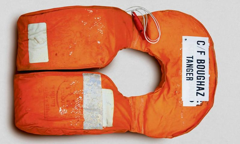 Lifejackets have become a striking symbol of the refugee crisis. This was one of 2,500 removed or discarded vests that formed a 'lifejacket graveyard' in Parliament Square to draw attention to the crisis in 2016