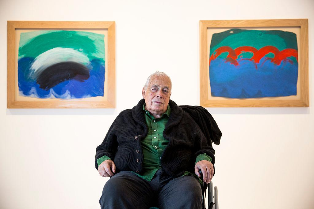 <p>Artist Howard Hodgkin, winner of the Turner Prize, died aged 84 on 9 March. (Rob Stothard/Getty Images) </p>