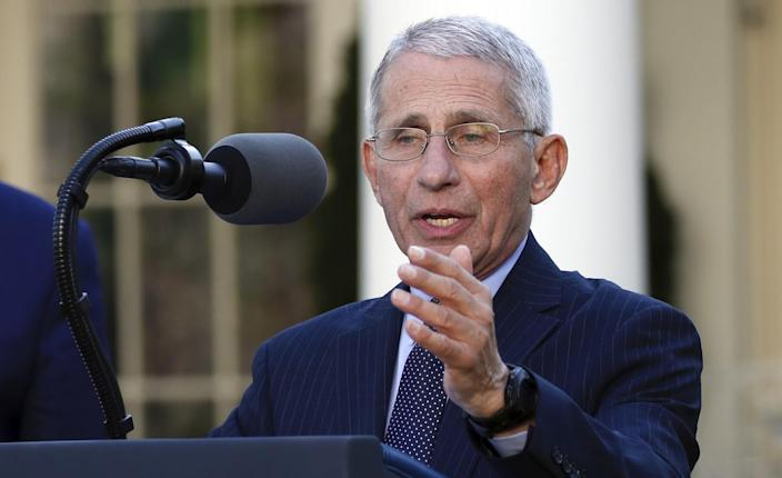 Fauci misses 'firm answer' on COVID-19 natural immunity question