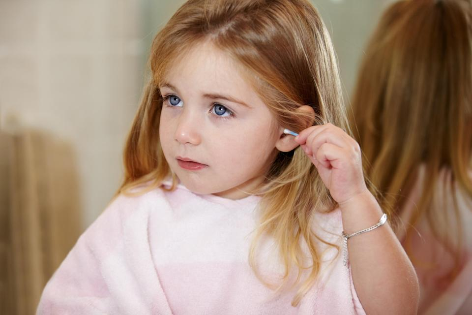Kids putting things in the noses and ears is costing the NHS £3m [Photo: Getty]