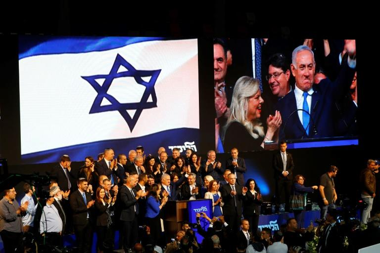 "Netanyahu, who has been accused of damaging Israel's social fabric with his divisive brand of populism, tells supporters he will lead a right-wing government but be ""prime minister for all"""