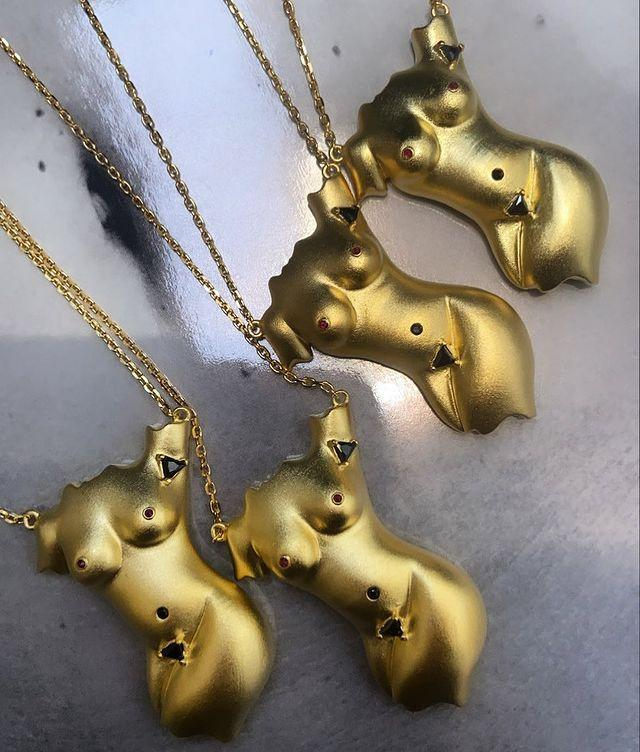"""<p>You may know of Anissa Kermiche's viral homeware, but perhaps you weren't aware of the brand's show-stopping jewellery too? While there are a handful (no pun intended) of anatomical designs offered, that's not all there is in store.</p><p><a class=""""link rapid-noclick-resp"""" href=""""https://go.redirectingat.com?id=127X1599956&url=https%3A%2F%2Fwww.net-a-porter.com%2Fen-gb%2Fshop%2Fdesigner%2Fanissa-kermiche%2Fjewelry-and-watches&sref=https%3A%2F%2Fwww.elle.com%2Fuk%2Ffashion%2Fg36448338%2Fjewellery-brands%2F"""" rel=""""nofollow noopener"""" target=""""_blank"""" data-ylk=""""slk:SHOP ANISSA KERMICHE NOW"""">SHOP ANISSA KERMICHE NOW</a></p><p><a href=""""https://www.instagram.com/p/COdtfgQF9IA/"""" rel=""""nofollow noopener"""" target=""""_blank"""" data-ylk=""""slk:See the original post on Instagram"""" class=""""link rapid-noclick-resp"""">See the original post on Instagram</a></p>"""