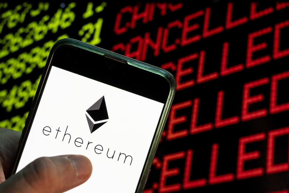 Ethereum is the world's second largest cryptocurrency platform. Photo: Budrul Chukrut/SOPA/LightRocket via Getty