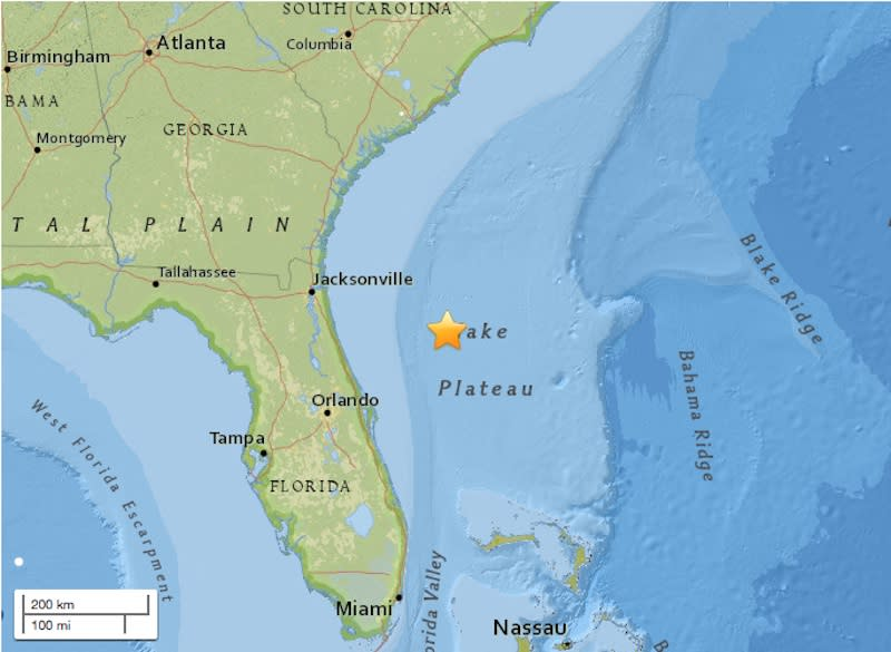 Why florida 39 s recent earthquake is so rare for Why live in florida