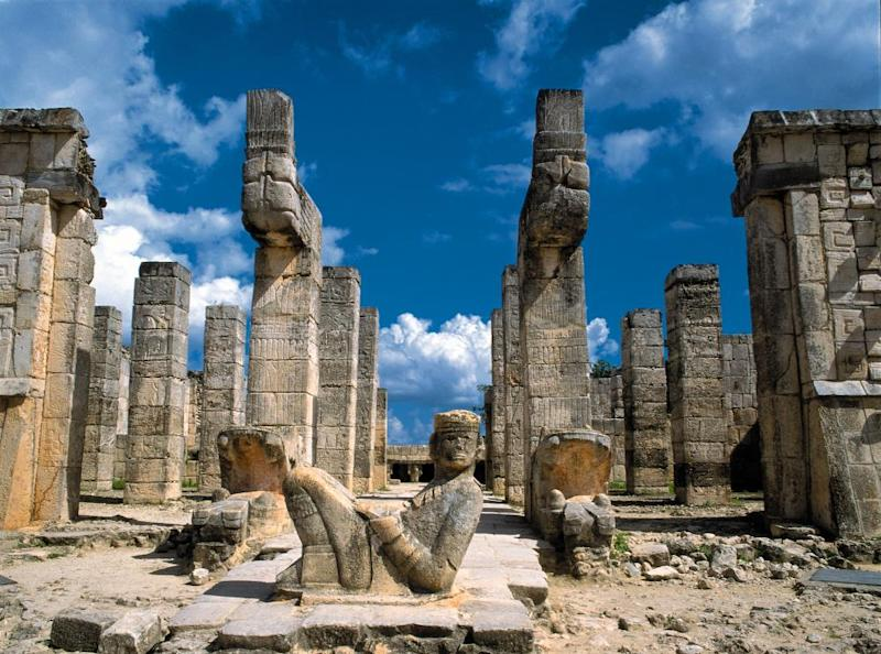 Chichén Itzá, Mexico, ancient ruins Credit Line ImageState / Alamy