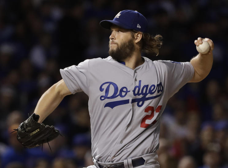 Dodgers ace Clayton Kershaw was his usual brilliant self this season, but the Dodgers weren't forced to rely him nearly as much. (AP)