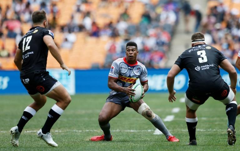 Damian Willemse (C) kicked 15 points for the Stormers in a South African Super Rugby Unlocked victory over the Cheetahs in Cape Town Saturday.