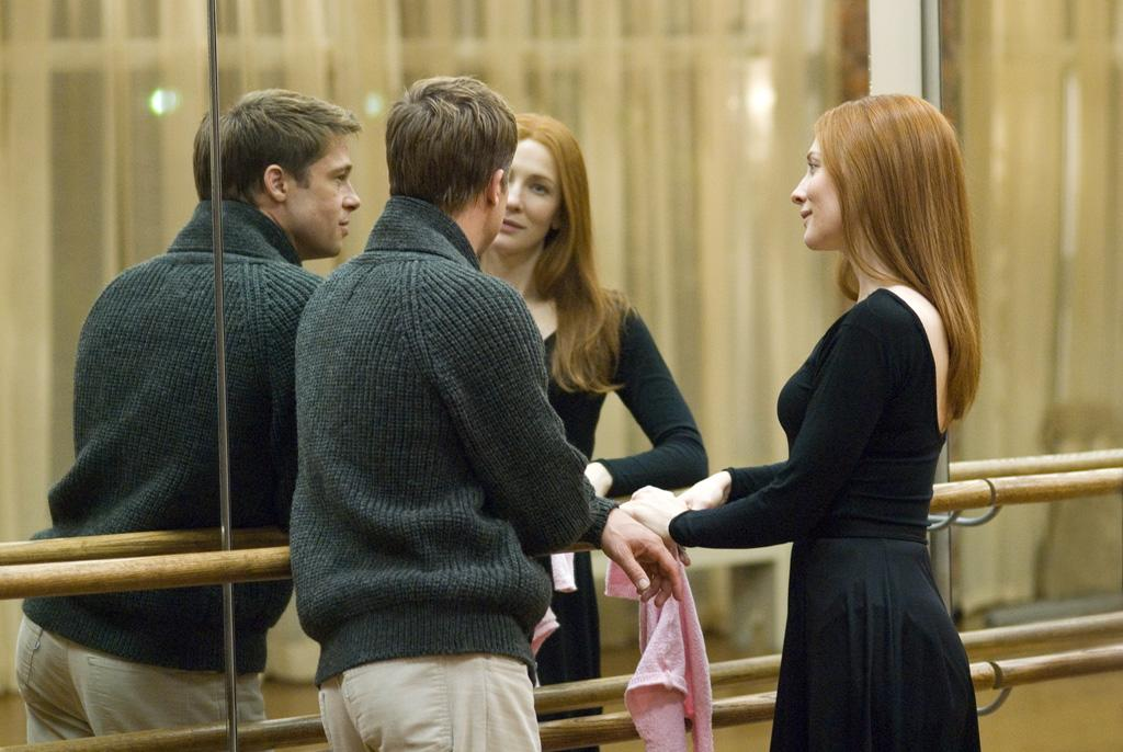 """<a href=""""http://movies.yahoo.com/movie/1809785152/info"""">THE CURIOUS CASE OF BENJAMIN BUTTON</a> (2008)  David Fincher's film about a man born old and ages in reverse was a change of pace for the director primarily known for ultra dark thrillers. Brad Pitt, Cate Blanchett and Tilda Swinton starred.   <a href=""""http://www.hollywoodreporter.com/gallery/brad-pitt-gallery-60311"""" target=""""_blank"""">PHOTOS: Brad Pitt's Most Memorable Movies</a>"""